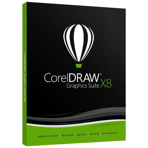 Diseñe Con Corel Draw Graphics Suite X8,x7 Full Español