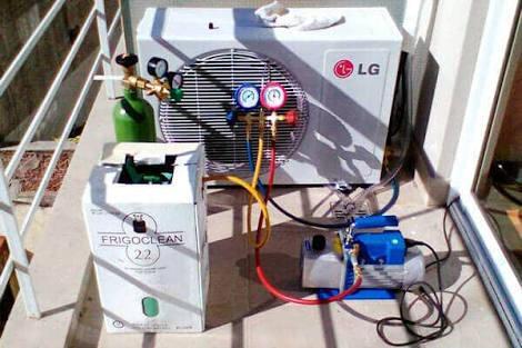 Instalaciones de aires acondicionado 910537446 señor