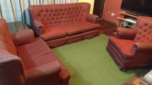 Juego de sala 3-2-1 muebles. usado. aparte vendo comedor.