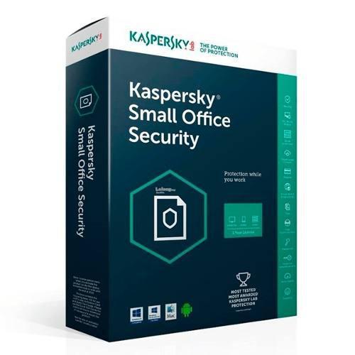 Kaspersky small office security 2019 para 25 pc por 1 año