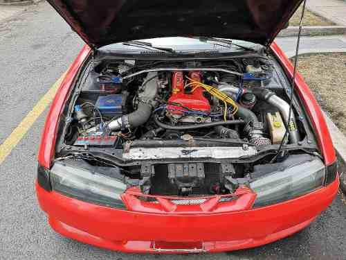 Motor nissan sr20 + turbo + ramal + caja mecanica + ecu