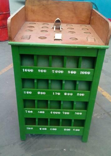 Sapo de madera con 12 fichas envio a provincia nuevos