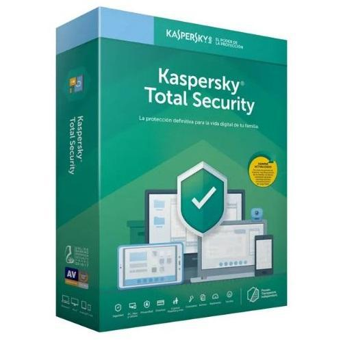 Software kaspersky total security 2019, 10 pc, 1 año
