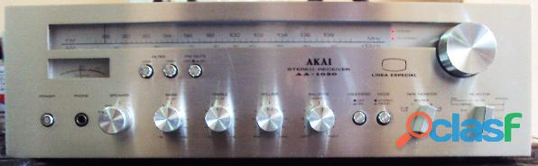 Amplificador akai mod: aa 1020 linea especial producido entre 1976 79 made in japan