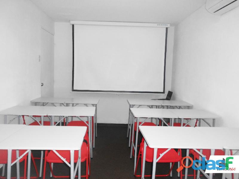 Av. arequipa   aula salón de clases con aire acondicionado full equipos