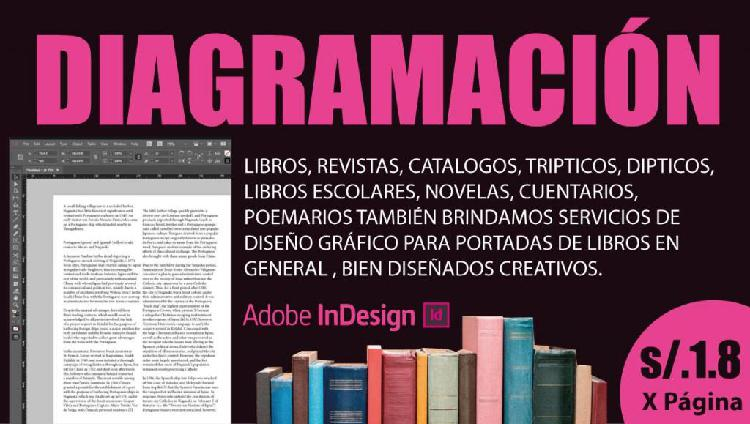 Diagramación de libros diagramacion de libros revistas s/.
