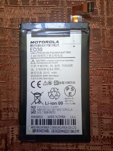 Bateria ED30 Original para Moto G1 G2 Motorola XT1031 XT
