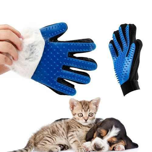 Guante mascota cepillo pelo quitar pelos animales mascotas