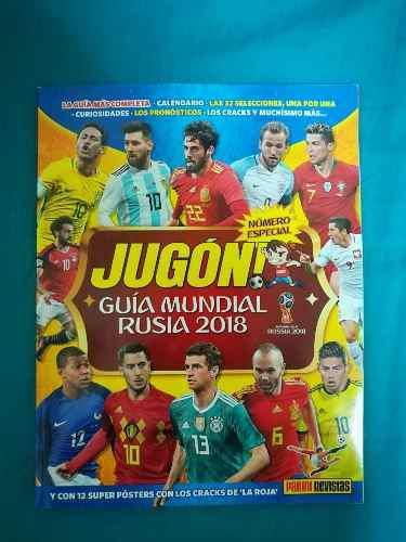 Guia del mundial rusia 2018 de revistas panini