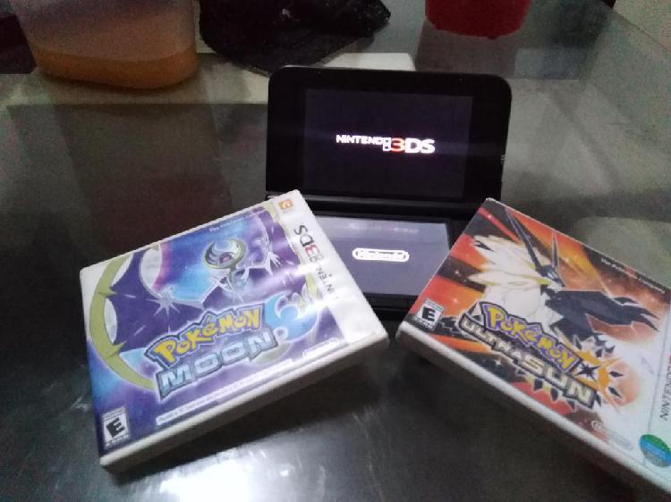 Nintendo 3ds Xljuegos de Pokemon