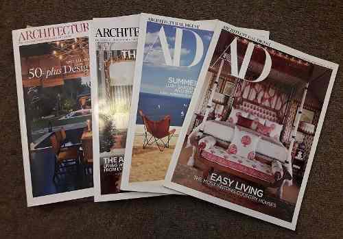 Revistas De Decoración Architectural Digest (edición