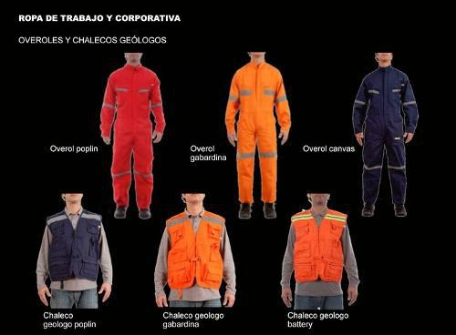 Ropa industrial - uniformes de trabajo