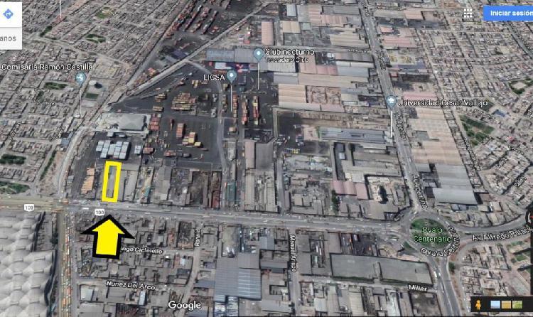 Vendo local industrial de 2,500 m2 en el callao