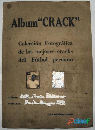 Album antiguo de futbol crack años 40