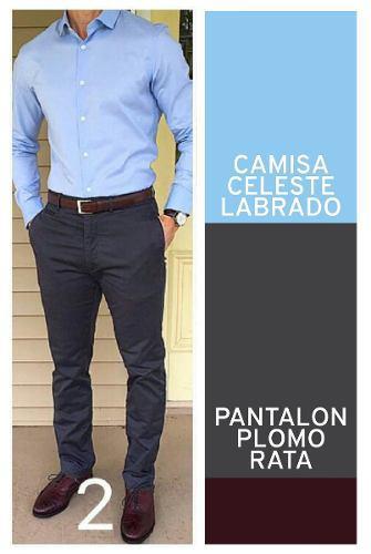 Pantalon Semi Pitillo Rebajas Febrero Clasf