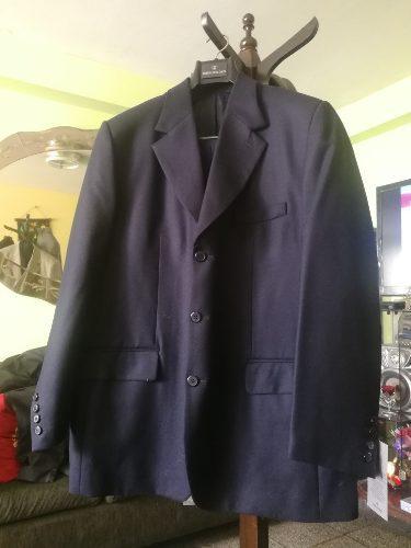 Terno nuevo john holden azul saco t42 pantalón t38 camisa