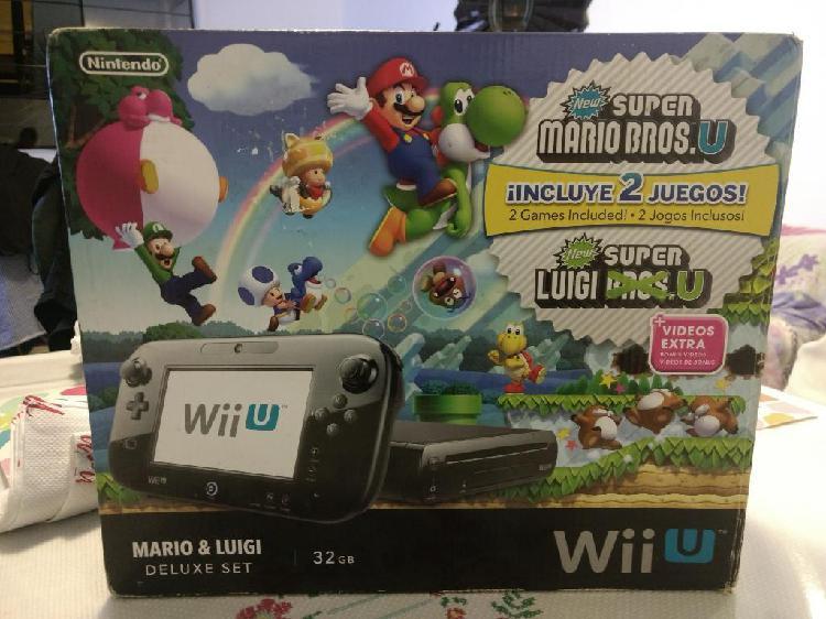 Wii u deluxe 32gb