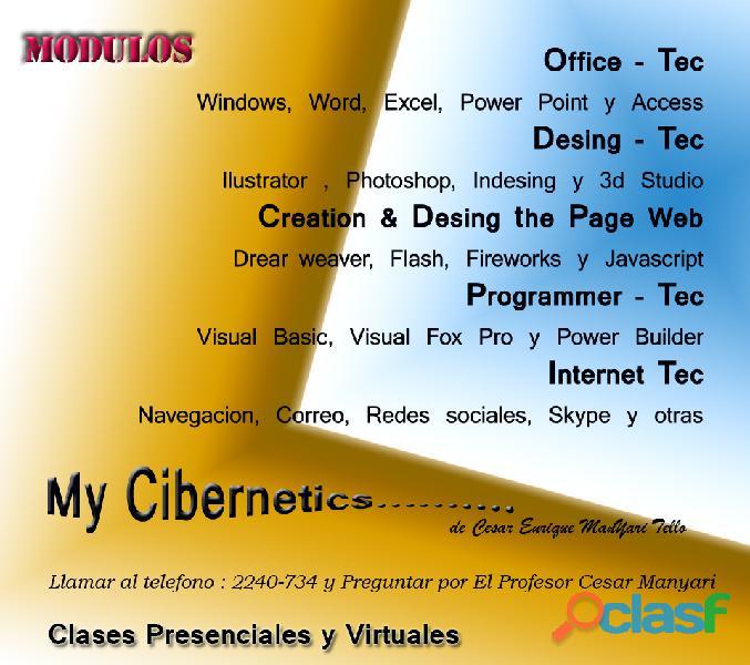 Aprende ya!!!!!!! los secretos de este mundo cibernetico