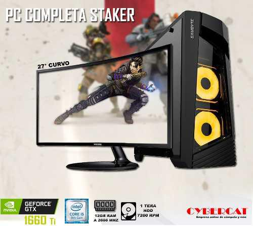 Computadora completa gamer intel core i5 9400f gtx 1660ti