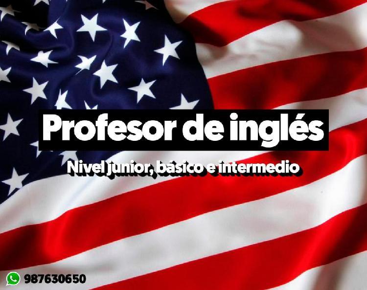 Profesor de ingles particular