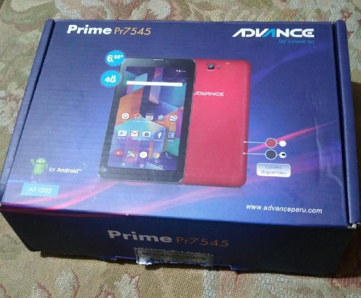 Tablet.celular advance prime