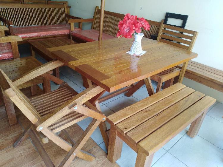 Oferta De Muebles De Terrazas En Madera En Lima Anuncios