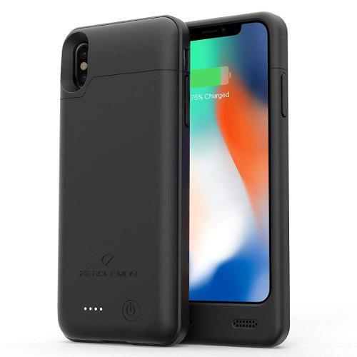 Iphone x xs power case bateria cargador mfi 4000 zerolemon