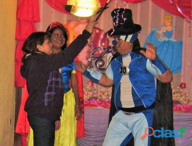 Chicotecas shows infantiles safari, frozen, minnie, mickey