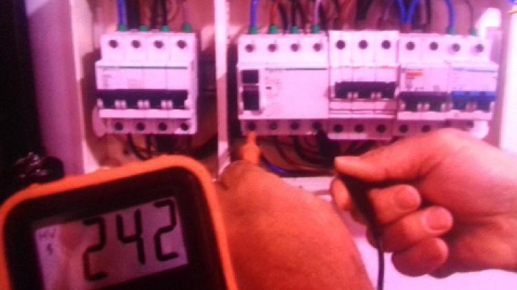 Electricista//fuga de luz,costos elevados en los recibos de