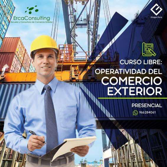 Curso libre de operatividad de comercio exterior en lima