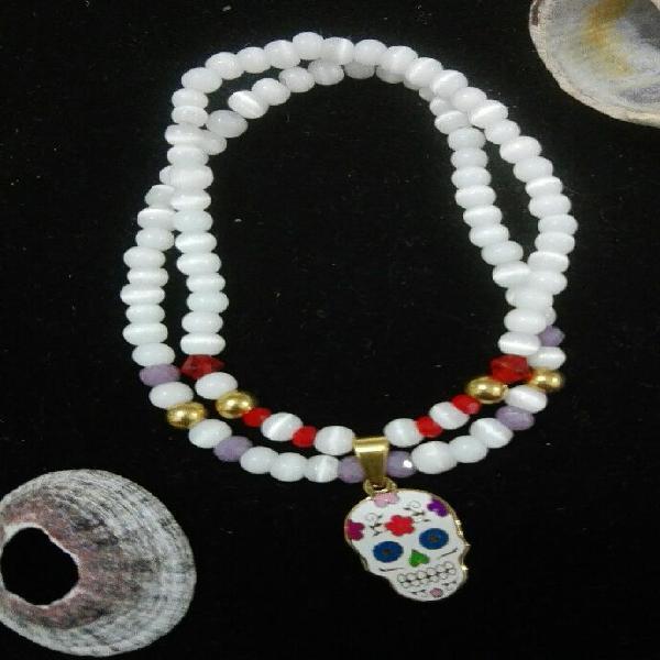 52f3f1e80288 Pulseras perlas piedras   REBAJAS Mayo