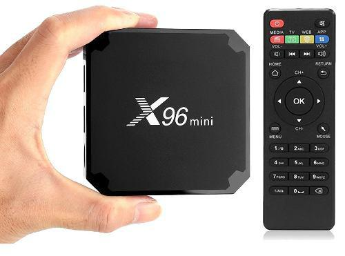 Android tv box x96 mini 1gb ram 8gb quadcore 7.1 smart tv