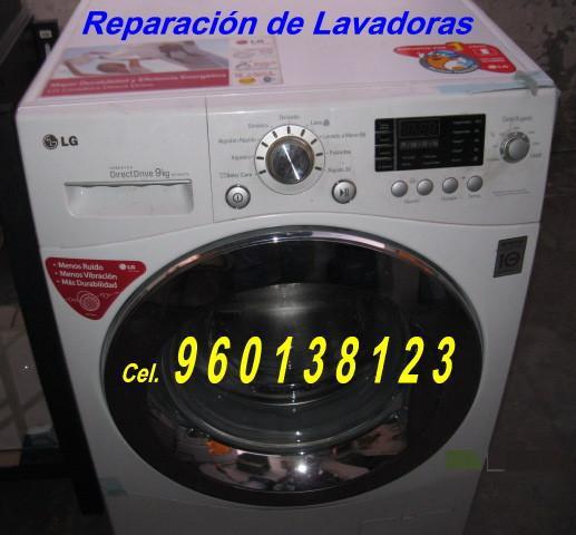Lavadoras reparación y mantenimiento edgardo 960138123 a