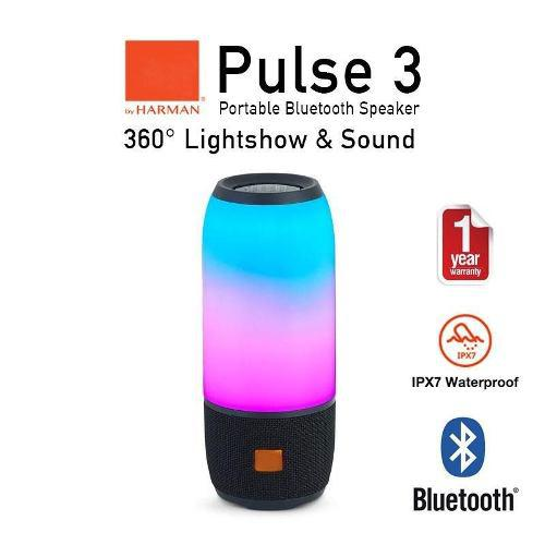 Parlante bluetooth pulse 3 luces