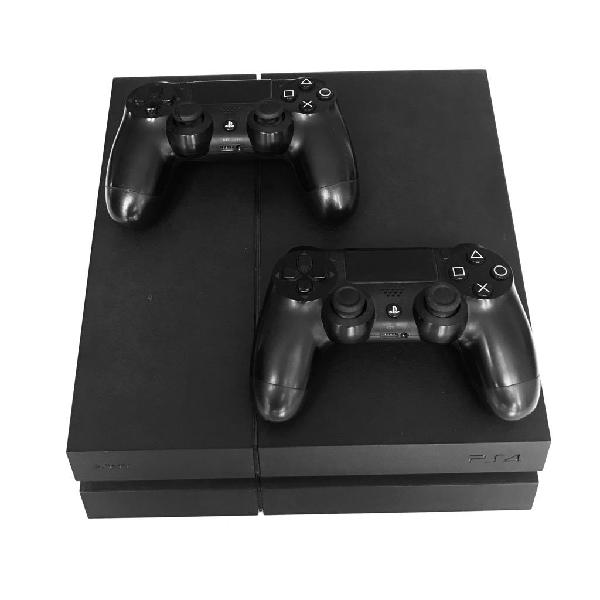 Playstation 4 - ps4 en perfecto estado + 2 mandos + 7 juegos