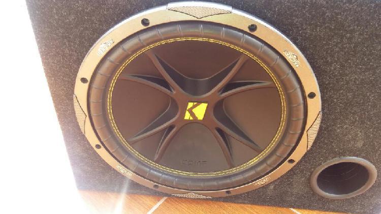 Subwoofer 12 con amplificador sony xplod