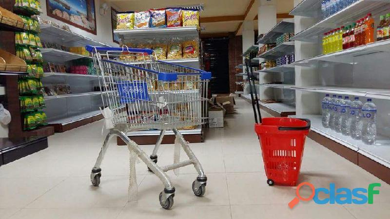 Coche de supermercado desde