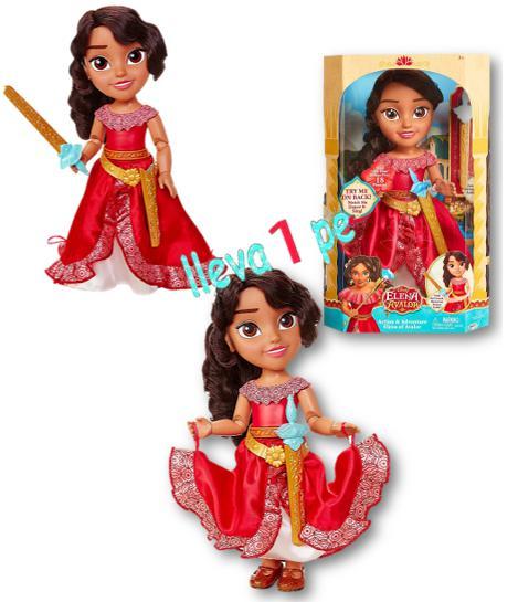 Elena De Avalor Disney Muneca Toddler Deluxe Articulada
