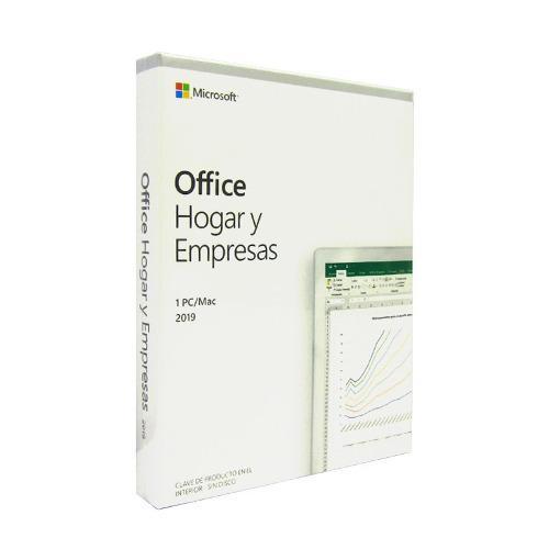 Office hogar y empresas 2019 retail caja español
