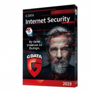Antivirus gdata internet security 2019 5pc - 1 año