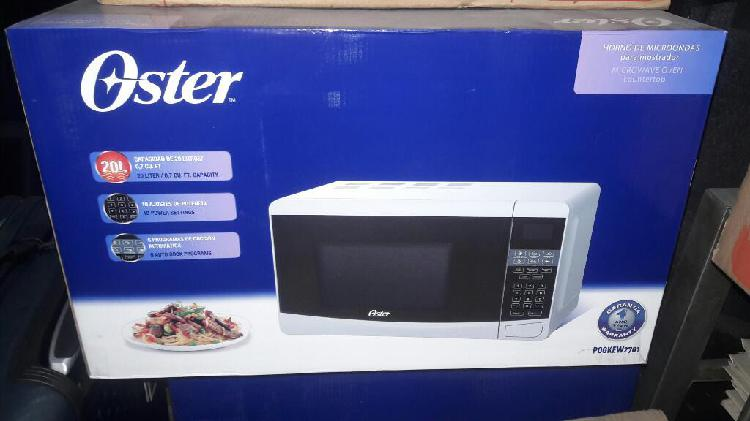 Horno microondas oster 20 lts