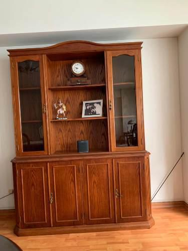 Mueble vitrina aparador de comedor de cedro en Peru ...