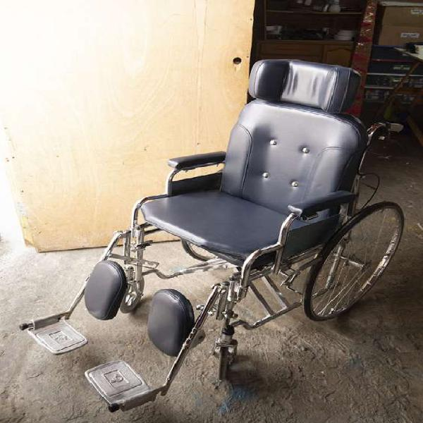 Remato silla de ruedas 5 en 1 reclinable en lima