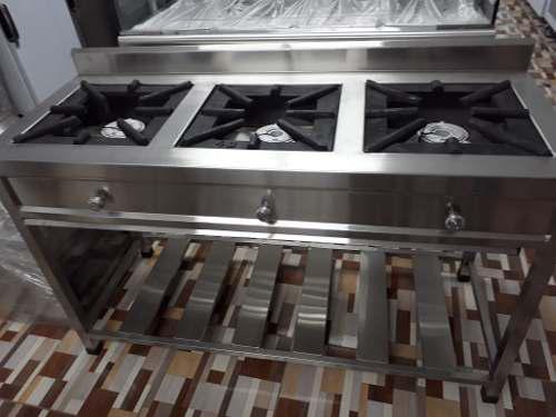 Cocinas industriales de acero inoxidable 304 inoxchef erika