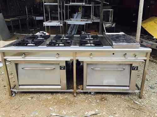 Cocinas industriales de alta presion aisi 304