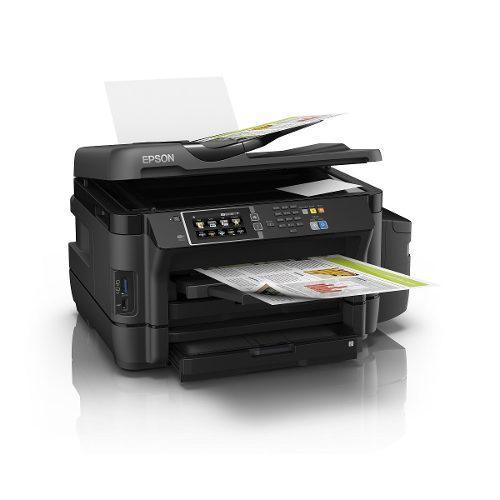 Impresora epson l1455 sistema continuo a3 duplex wifi usada