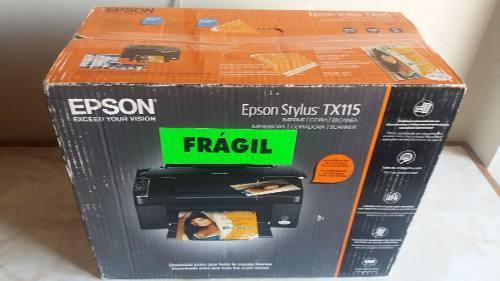 Impresora epson stylus tx115 (detalle)