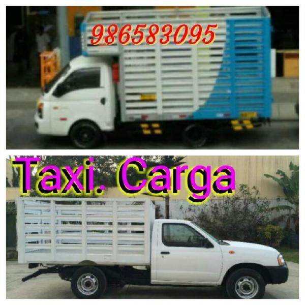 Mini mudanzas fletes// taxi carga 24 h.