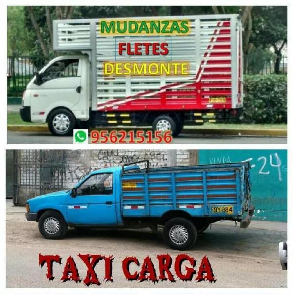 Mudanzas y taxi fletes y recojo desmonte
