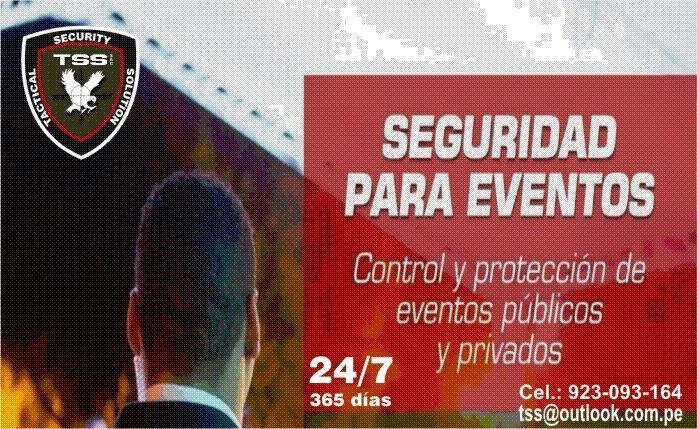 Seguridad para eventos y discotecas peru